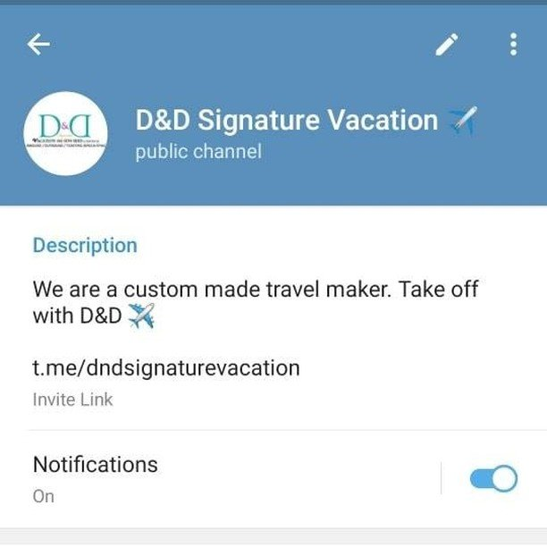 Jom join chanel telegram kami kalau anda nak info/pakej travel/custom