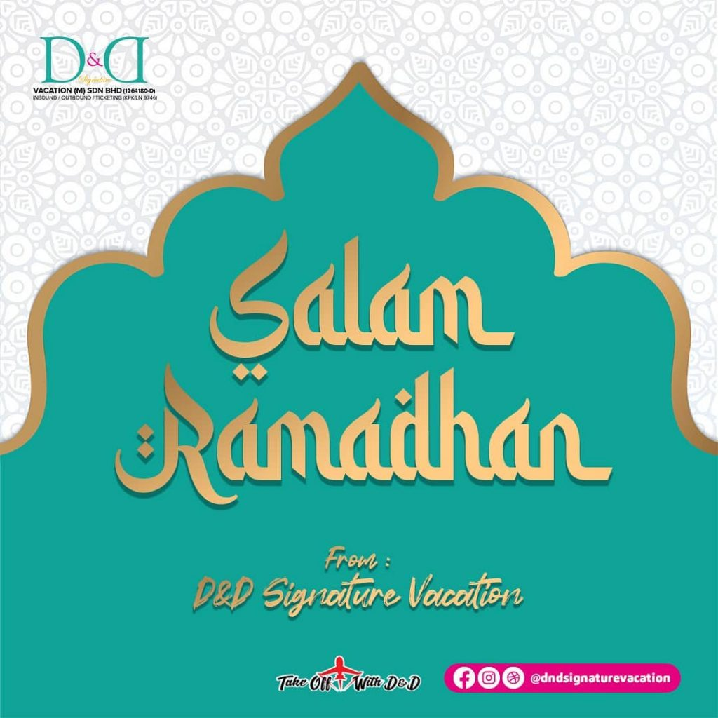 Greeting from D&D Signature Vacation, We wish all Muslims a